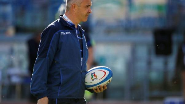 O'Shea targets Springboks upset after naming Italy squad