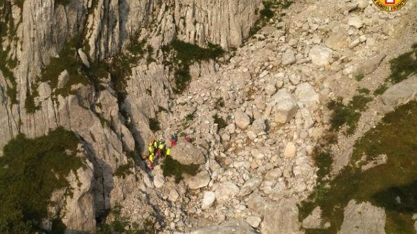 Alpinista muore in Valle Camonica