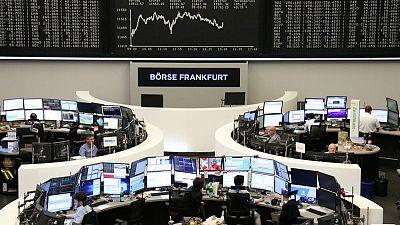 دويتشه بنك يقود الأسهم الأوروبية للارتفاع