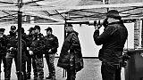 Pellegrin firma calendario 2020 Polizia