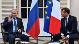 Chiding Macron, Putin says 'I don't want yellow vests in Russia'