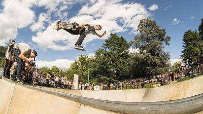 Skateboard,Bolzano capitale World Rookie
