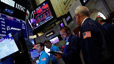 الأسهم الأمريكية ترتفع بفضل تفاؤل إزاء الاقتصاد العالمي