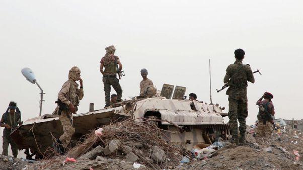 Clashes hit Yemen's south, Saudi-led forces strike capital