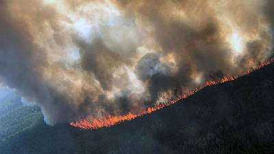 Late-season fires flare up in drought-stricken parts of Alaska