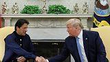 ترامب يناقش مع رئيس وزراء باكستان خفض التوتر مع الهند بشأن كشمير