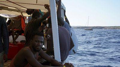 Migranti, ricoverati due della Open Arms