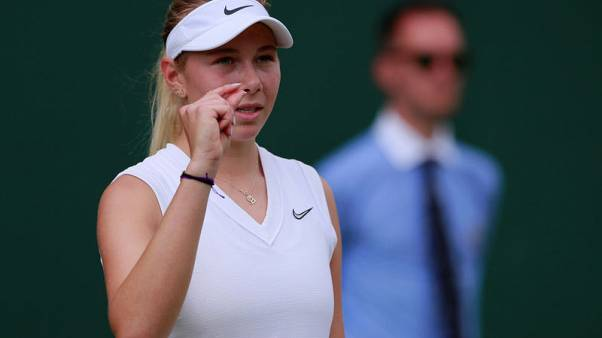 Anisimova withdraws from U.S. Open following father's death