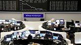الأسهم الأوروبية ترتفع للجلسة الثالثة على التوالي
