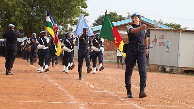 La médaille de l'ONU décernée à 140 éléments de l'Unité de Police Constituée (FPU) du Cameroun