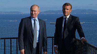 Kremlin - No date set for Normandy talks on Ukraine despite Macron meeting