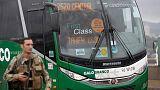 Brazilian police sniper kills Rio bus hijacker; no hostages hurt