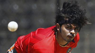 Indian bowler Sreesanth's ban reduced to seven years, to end in September 2020