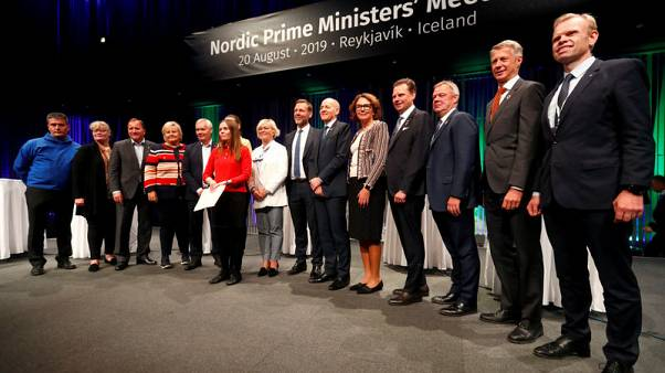 Nordic PMs, CEOs sign joint declaration on climate change