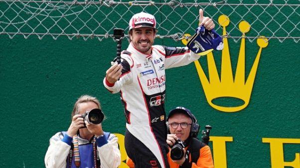 Dakar: Alonso si prepara con team Toyota