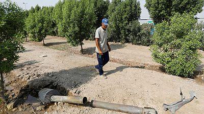 مصادر أمنية: انفجارات بموقع لجماعة مسلحة قرب قاعدة بلد الجوية بالعراق