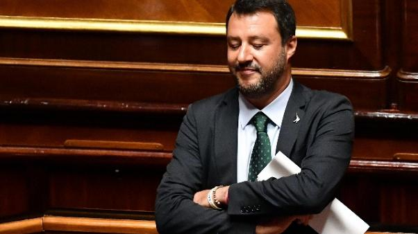 Salvini in Senato: rifarei tutto