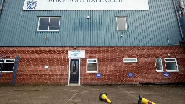 Bury kicked out of League Cup and have fifth league fixture suspended