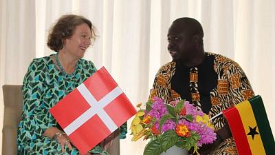 Ghana Statistics visits Denmark to exchange knowhow on data collection