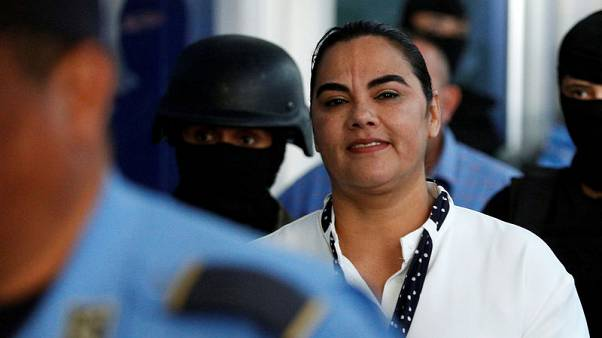 Wife of ex-president of Honduras convicted in corruption case