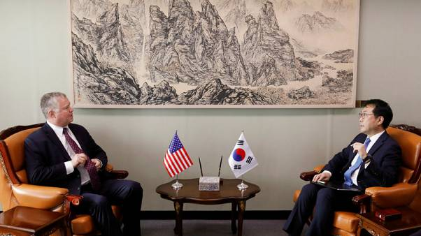 U.S. envoy Biegun says will focus on North Korea denuclearisation, not take up Russian post