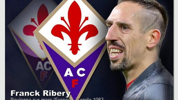 Fiorentina: Ribery è arrivato in città