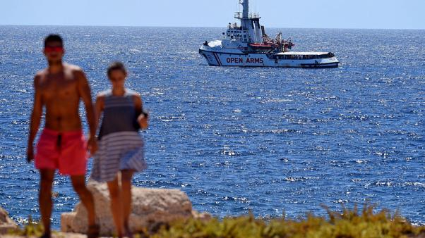 Five EU states to take in Open Arms migrants, ending standoff