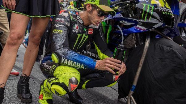Rossi, qui la Yamaha di solito è veloce
