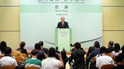 Don't 'mess up Macau' - gambling hub set to choose Beijing-backed leader