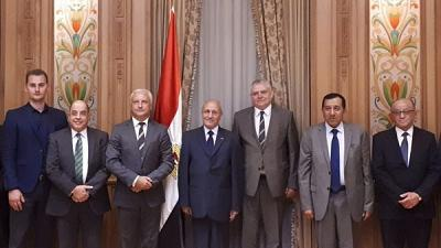 Ambassador of Belarus Sergei Rachkov met with the Minister of State for Military Production of Egypt