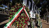 Ultrà ucciso: 300 agenti per funerale