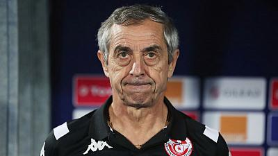 فسخ عقد جيريس مدرب تونس بعد نحو تسعة أشهر بالمنصب