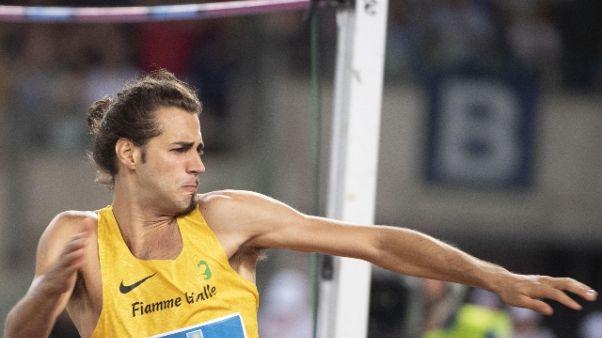 Atletica: Tamberi dà forfait a Parigi