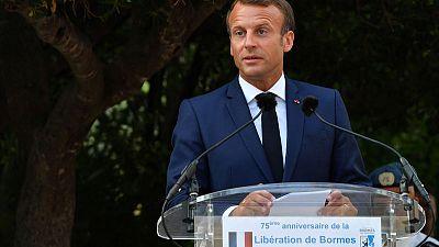 Macron says will meet Iranians before G7 summit