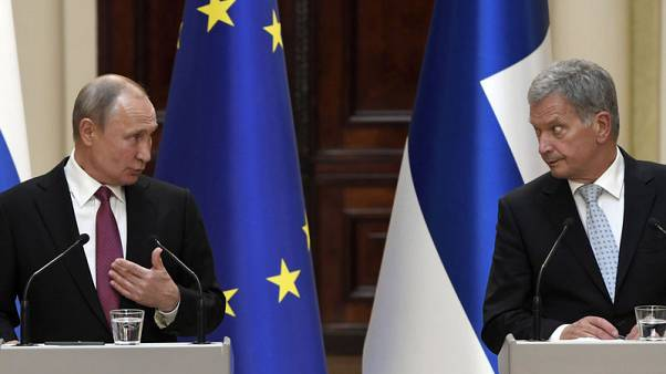 Putin says Finnish part of Nord Stream-2 gas pipeline complete