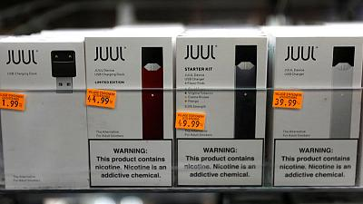 E-cigarette firms probed over health concerns by U.S. House panel