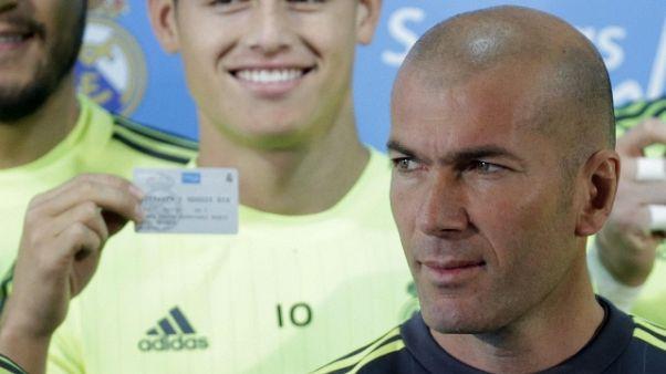 Spagna: adesso Zidane 'conferma' James