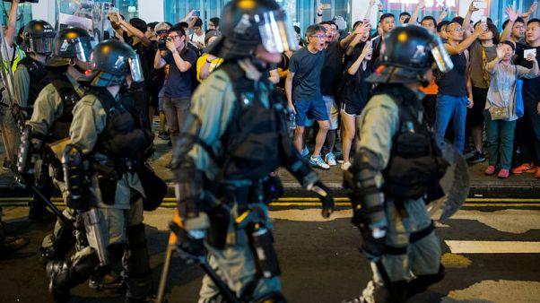 Banks in Hong Kong condemn violence, urge restoration of 'harmony'