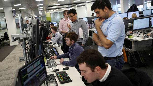 FTSE 100 falls after Fed minutes, deal talks lift NMC Health