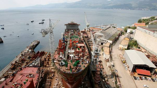 Croatia gives state guarantee to keep shipyard afloat