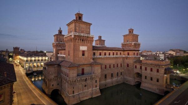 Corteo Bibbiano, stop auto a Ferrara