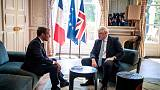 ماكرون لجونسون: فات أوان اتفاق جديد على خروج بريطانيا من الاتحاد الأوروبي