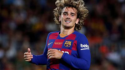 Barca injuries lay extra burden on Griezmann in home bow