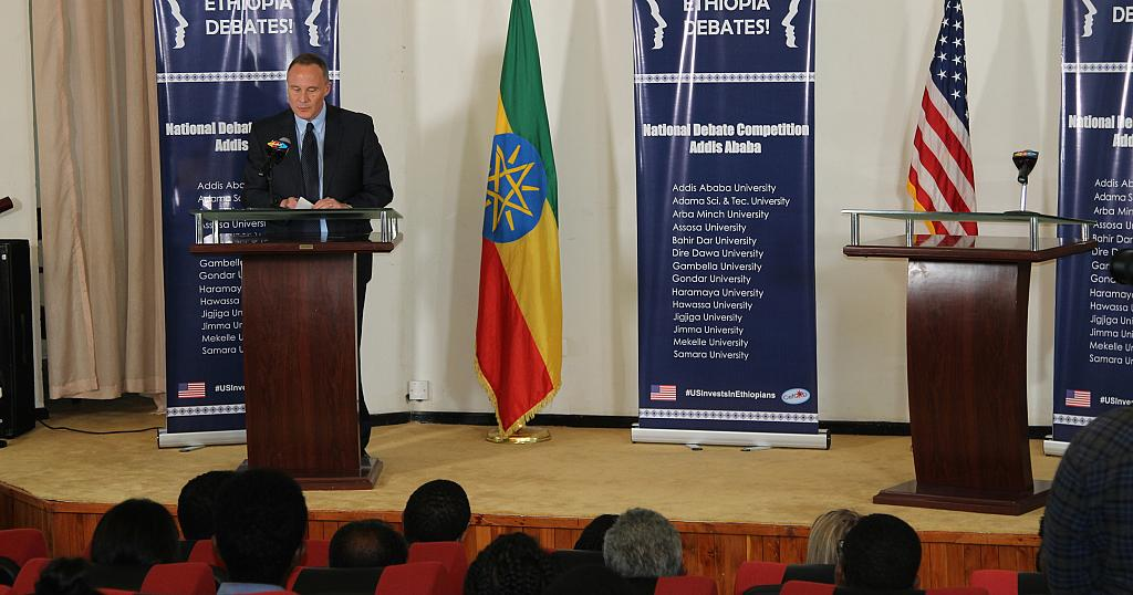 U S  Embassy Celebrates Successful Conclusion of Ethiopia