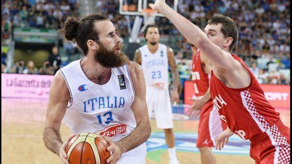 Basket: Italia ritrova Datome-Gallinari