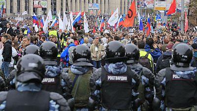Academics accuse Kremlin of repressing political protesters