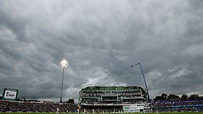Weather continues to hamper England progress in third Ashes test