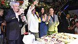 A festa 90 anni Capannina Arcuri e Calà