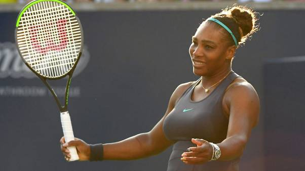 Serena and Sharapova in first-round match at U.S. Open