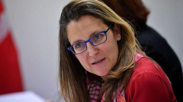 Canada's Freeland to return to Cuba to discuss Venezuelan crisis